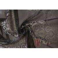 Тюль Genel 16242 Black/Ivory