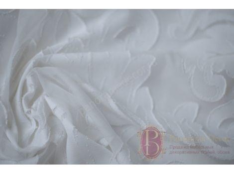 Тюль Madras col. Bianco